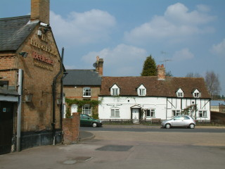Flying Horse pub at Clophill   photo: Ewart Tearle