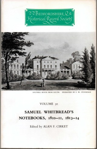cover image: Southill House from the south