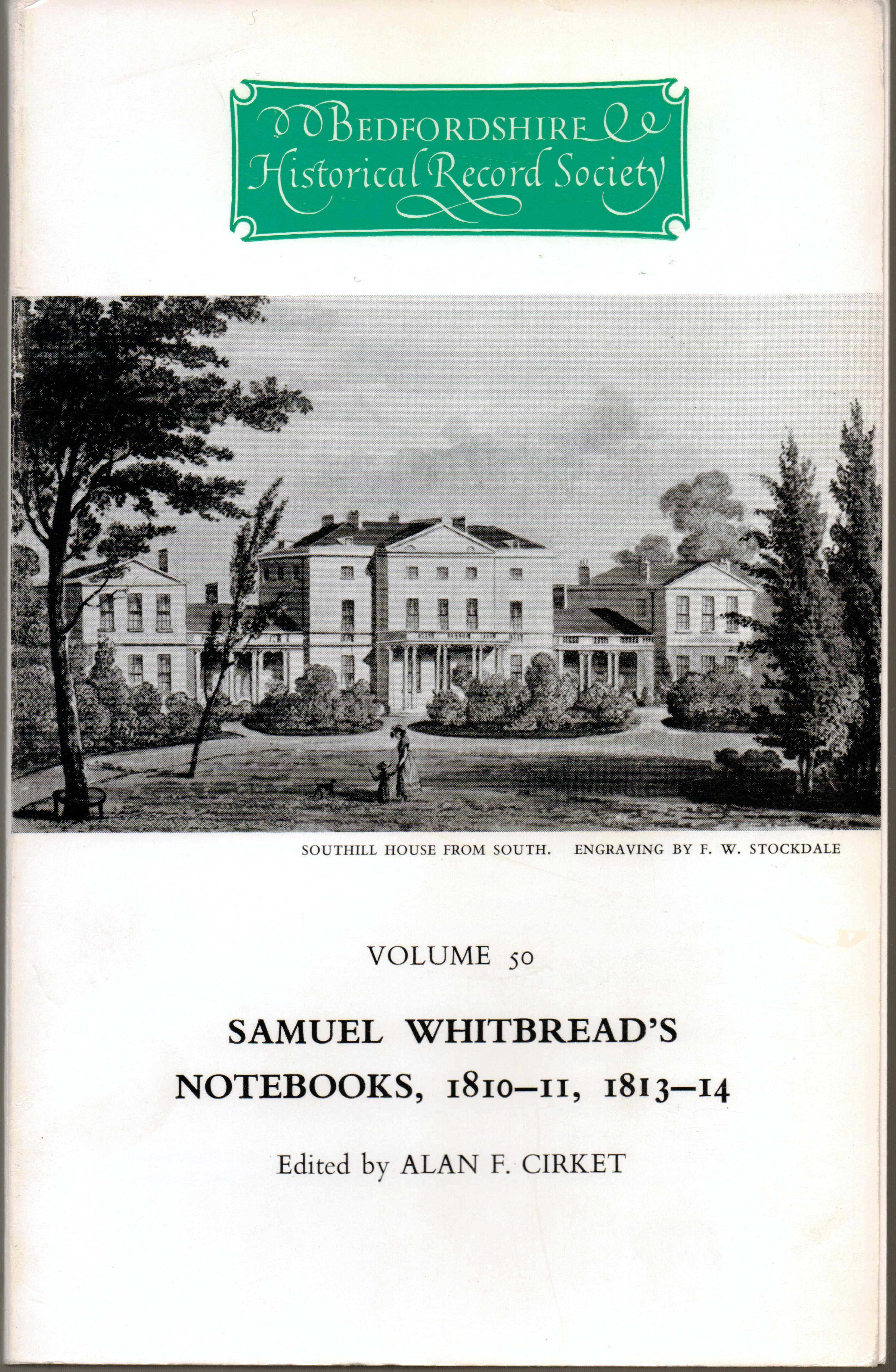 Samuel Whitbread's notebooks 1810-11, 1813-14