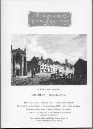 cover image: St John's Street, Bedford