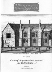 Court of Augmentations Accounts for Bedfordshire - I