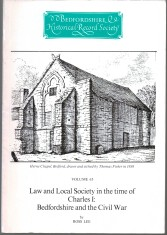 Law and local society in the time of Charles I