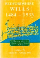 Bedfordshire wills 1484-1533