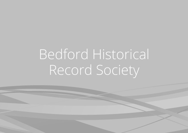 The Publications of the Bedfordshire Historical Record Society, vol. 25