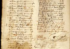 Elizabethan churchwardens' accounts