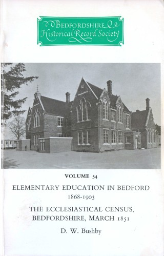 cover image: Ampthill Road elementary school 1876