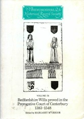 Bedfordshire wills proved in the Prerogative Court of Canterbury 1383-1548