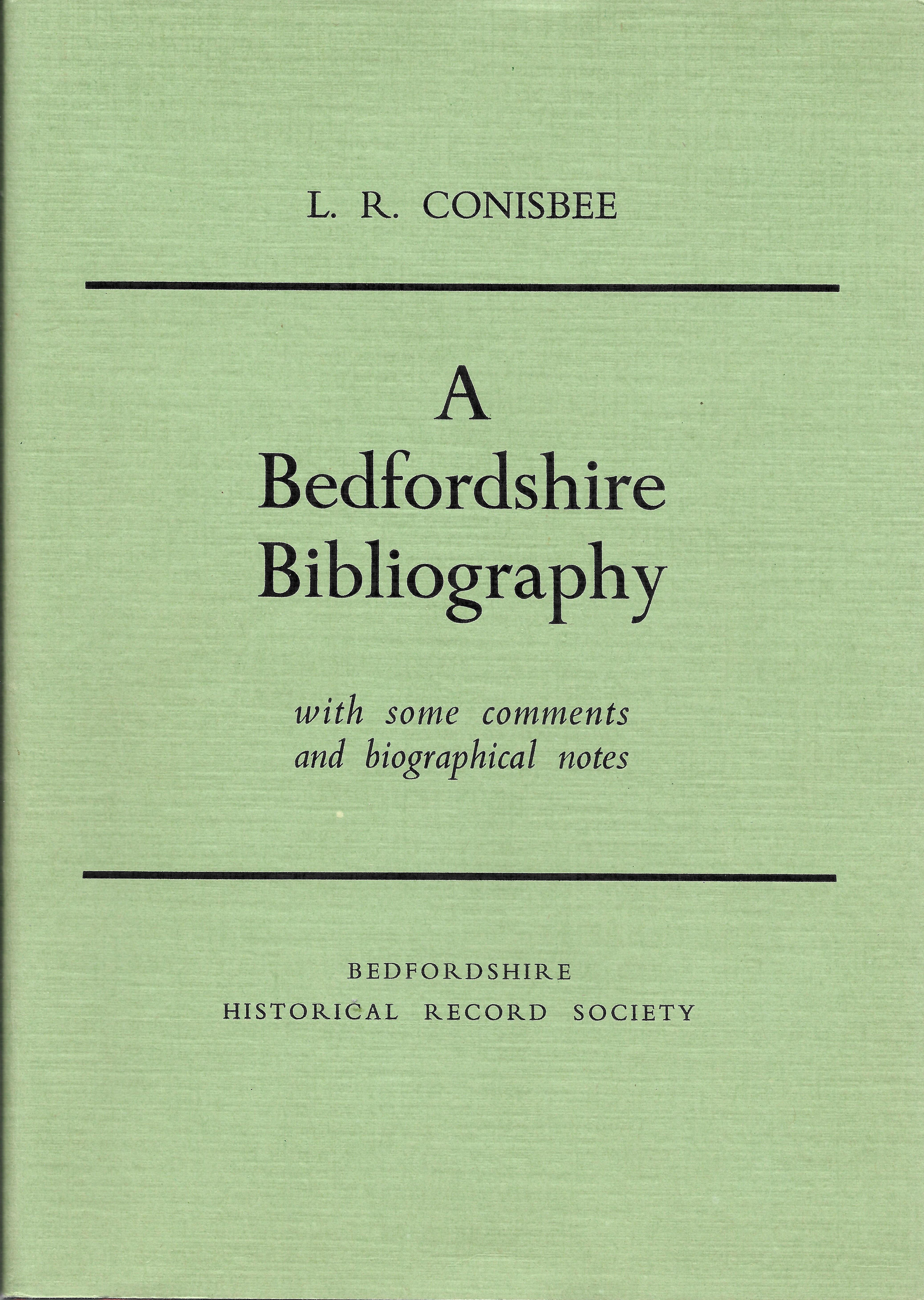 A Bedfordshire bibliography