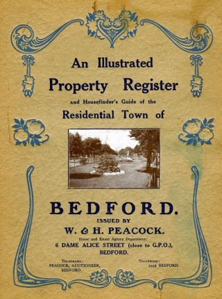 W. & H. Peacock Illustrated Property Register | photo: Nicola Avery