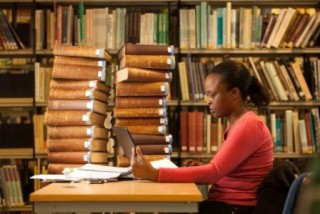 Studying in the Library | photo: University of Northampton Library