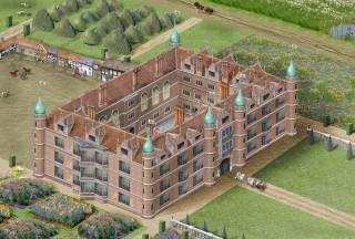 Alan Higgs' reconstruction of Cheney's Palace, Toddington    | copyright: Alan Higgs